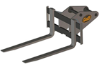 Excavator Fork Attachment