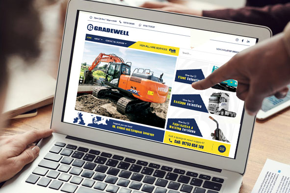 Gradewells New Website