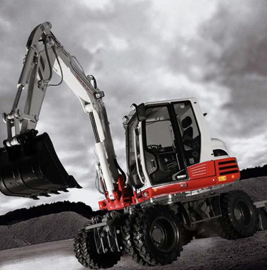 8T-wheeled-excavator-Takeuchi TB295W